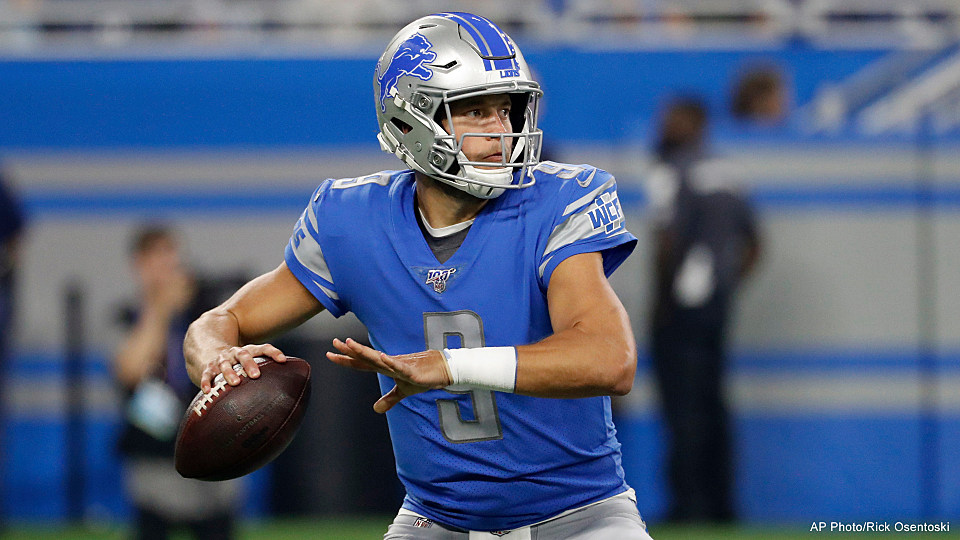 Lions Quarterback Matthew Stafford May Have COVID-19