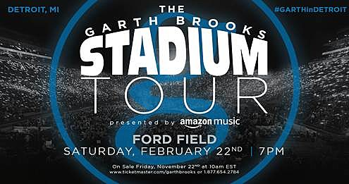 Breaking: More Garth Tickets Become Available For Ford Field