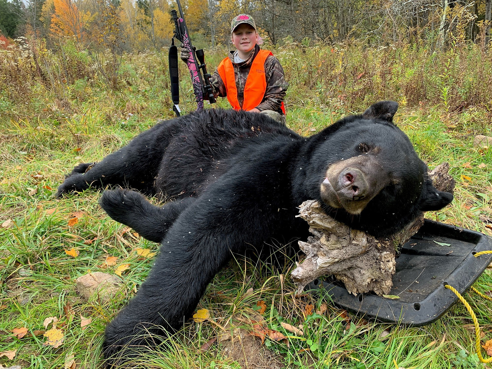 New York Teen Takes Down Bear In Youth Big Game Hunt