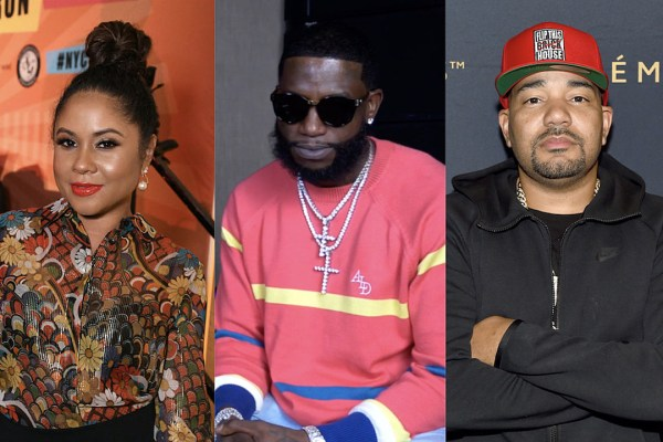 "Gucci Mane Calls Angela Yee a ""Punk-Ass Bitch,"" Threatens to ""Slap the S*!t Out of"" DJ Envy"