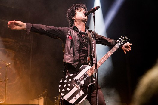 Green Day performing at 'NFL Honors' ahead of Super Bowl LV