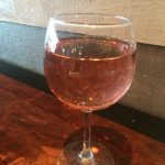Glass of Pink Moscato
