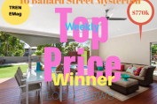 TREN Weekly Top Price Winner - 16 Ballard Street Mysterton