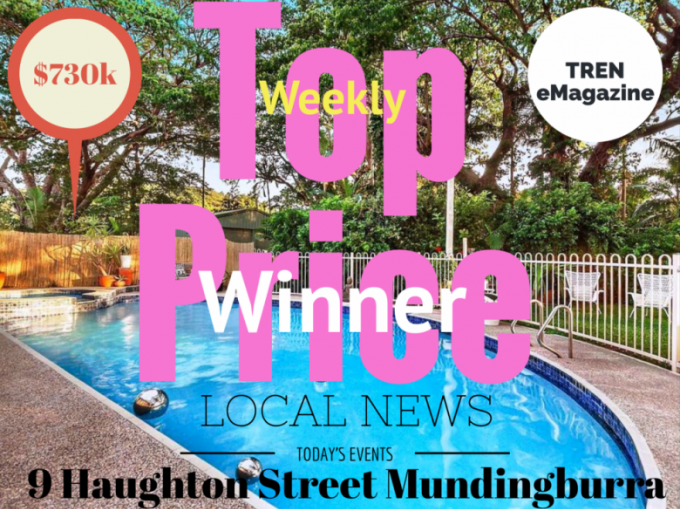 Winner - Townsville Property Weekly Top Price
