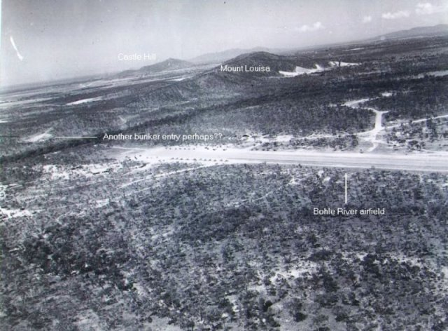 American war time photo of American military airstrips at Bohle (current day Kirwan), Townsville North Queensland
