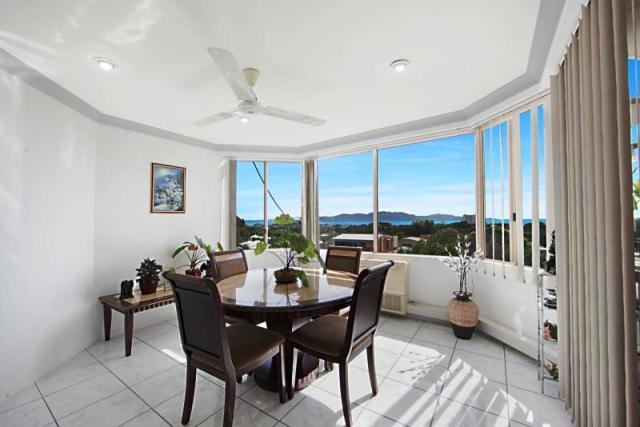 North Ward - Views from dining area at Top Price Winner of the Week - 2-320 Stanley Street - $620,000