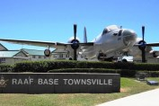 Townsville Airport - RAAF Base Townsville and ex-Royal Australian Air Force (RAAF) Lockheed SP-2H Neptune A89-280