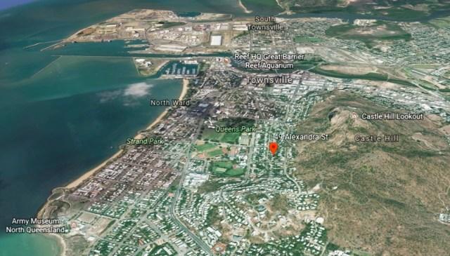 North Ward - Satellite view of 49 Alexandra Street Townsville