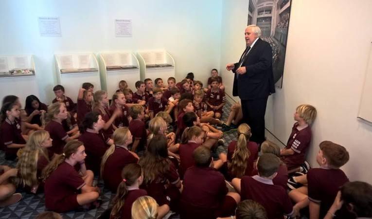 Queensland Nickel CEO Clive Palmer