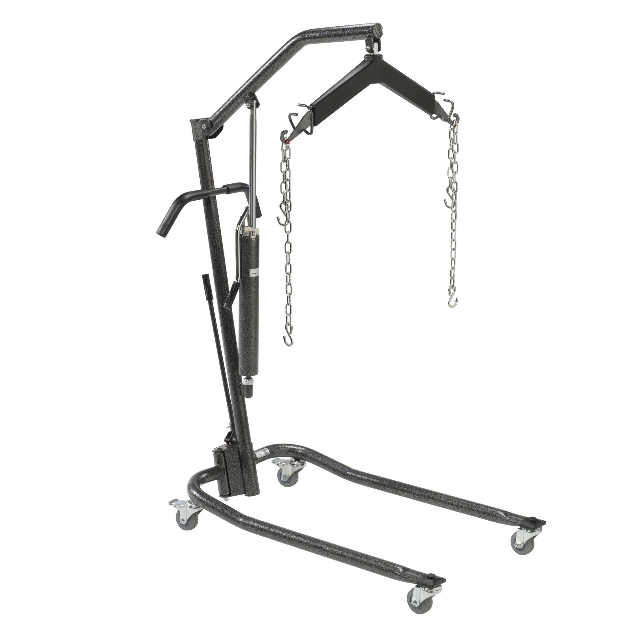 Hydraulic Patient Lift With Six Point Cradle Silver Vein