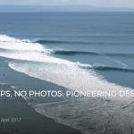 NO TALK, NO MAPS, NO PHOTOS: PIONEERING DESERT POINT IN THE EIGHTIES