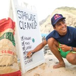 Kai Lenny Leads First-Ever Hawaiian Statewide Coastline Cleanup on Downwind Channel Challenge