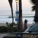 Local Surfer Dunks Grom At Salt Creek