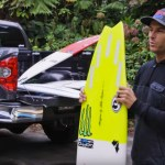 What is Shane Dorian riding? A very, very diverse quiver
