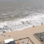 WATCH: MINI TSUMANI HITS BEACH IN EUROPE