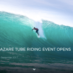 WINDOW FOR NAZARE TUBE RIDING EVENT OPENS