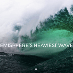 THE NORTHERN HEMISPHERE'S HEAVIEST WAVES