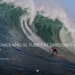 WEIRD RUMBLINGS AND XL TUBES AT OREGON'S MOST VOLATILE REEF