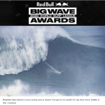 Maya Gabeira Sets New World Record, Wins cbdMD XXL Biggest Wave Award