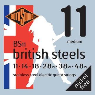 BS11 british steels guitar strings