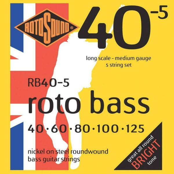RB40-5 bass strings