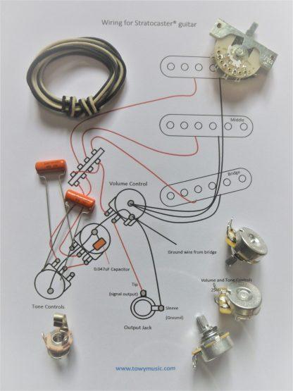Wiring Kit for Strat