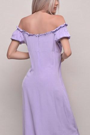 Φόρεμα Λιλά Midi
