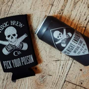 Toxic Can Coozie