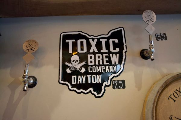 Toxic Ohio Wall Sign
