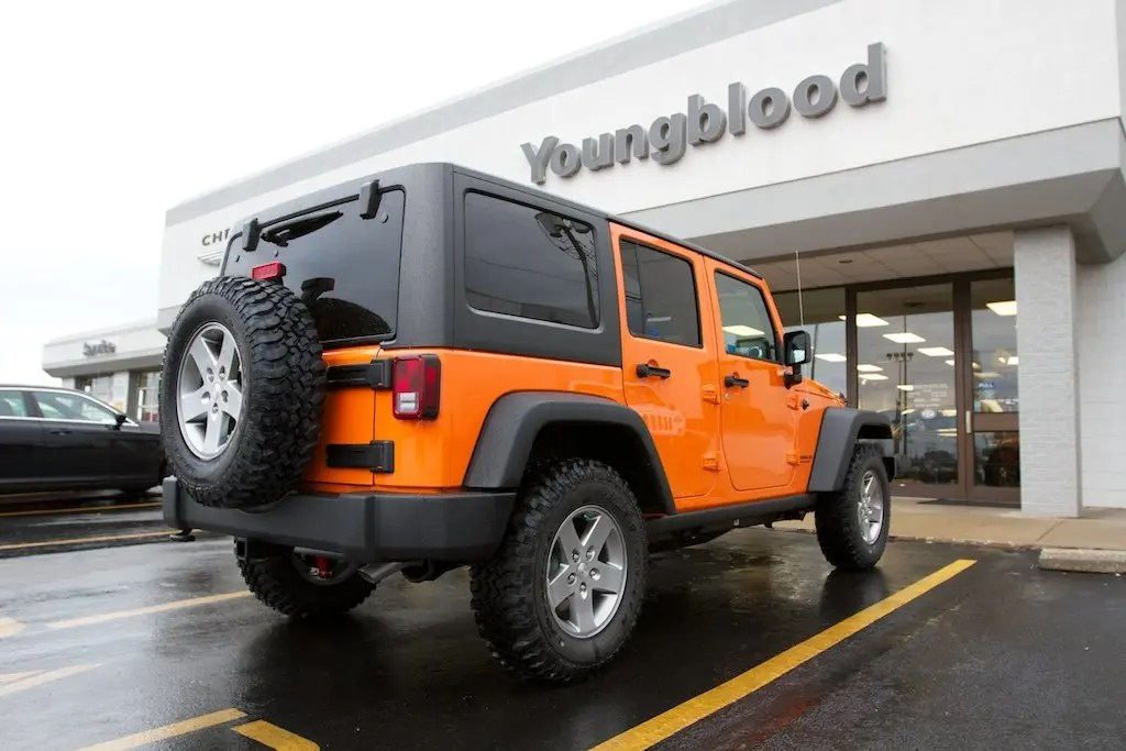 Jeep Wrangler Unlimited Rubicon JK