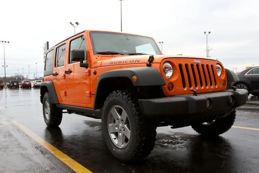 Jeep Wrangler Unlimited Rubicon JK