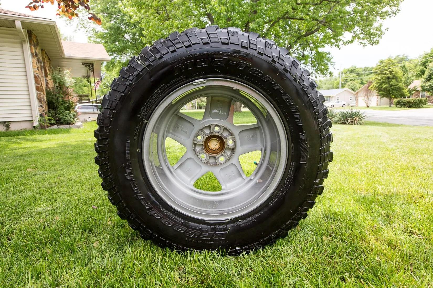 Super clean wheel