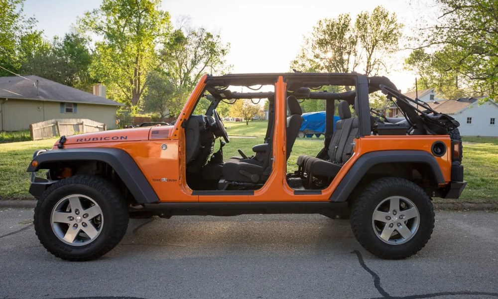 Naked Jeep!