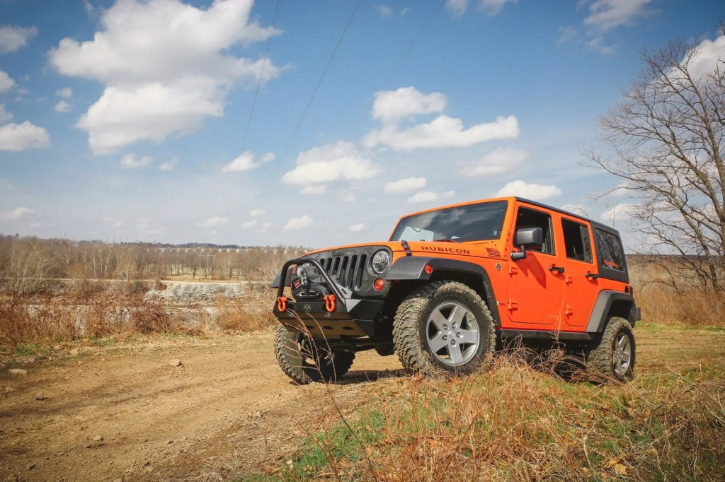 Poser Jeep Shot