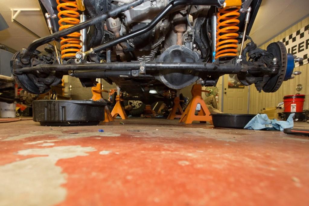 Currie Enterprises suspension system complete