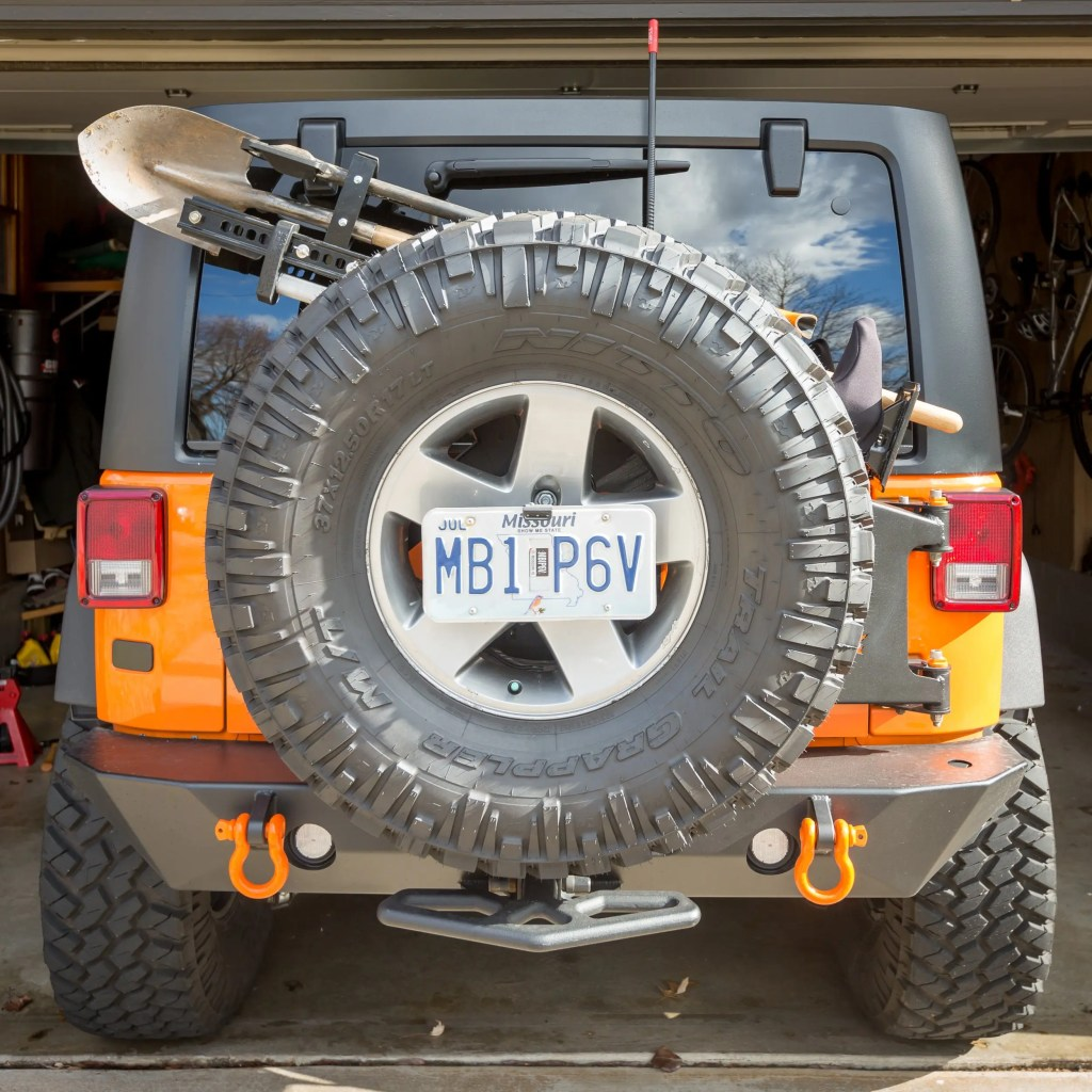 Dominion OffRoad Hi-lift Accessory Bars