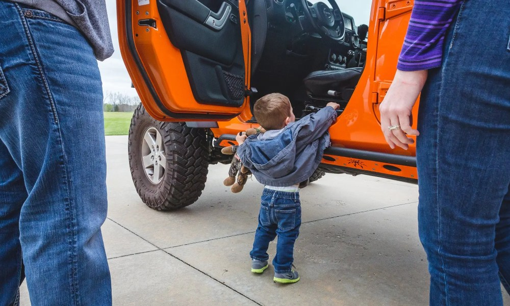 My Nephew Loves Jeeps