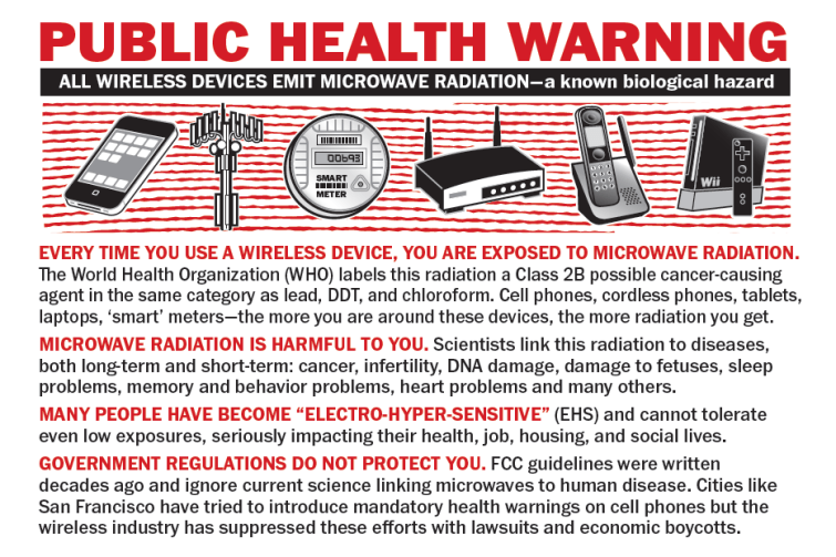 EMF exposure from cell phones & WIFI are killing us softly ...