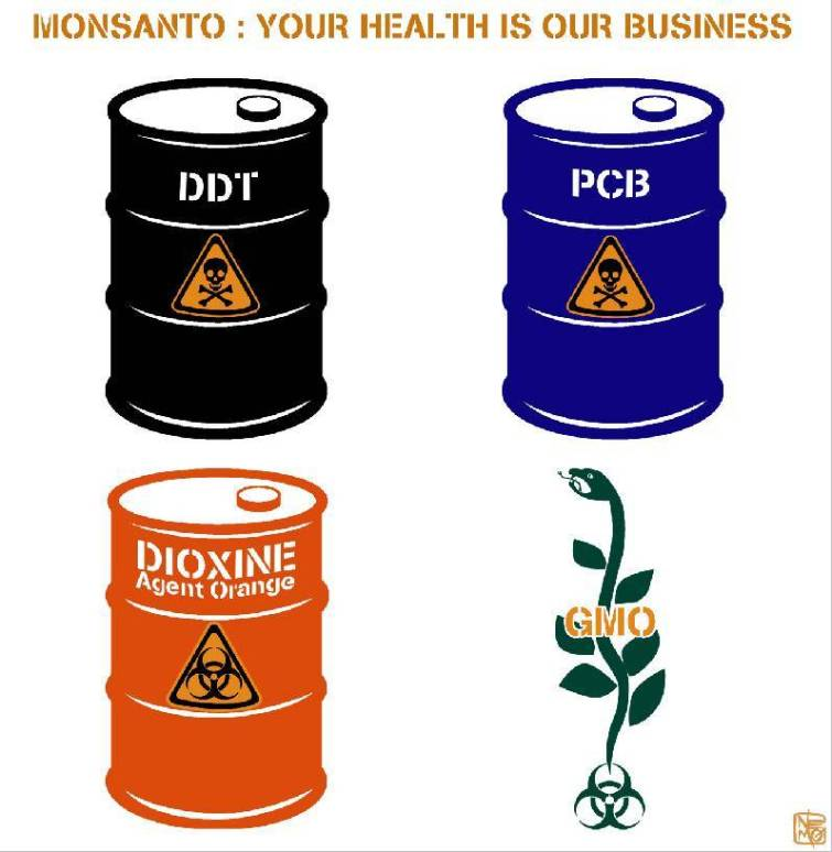 Monsantos Poisons @ ToxicNow.com