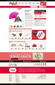 Diseño Web BodasOutlet