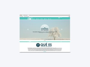 Web Control de Heladas
