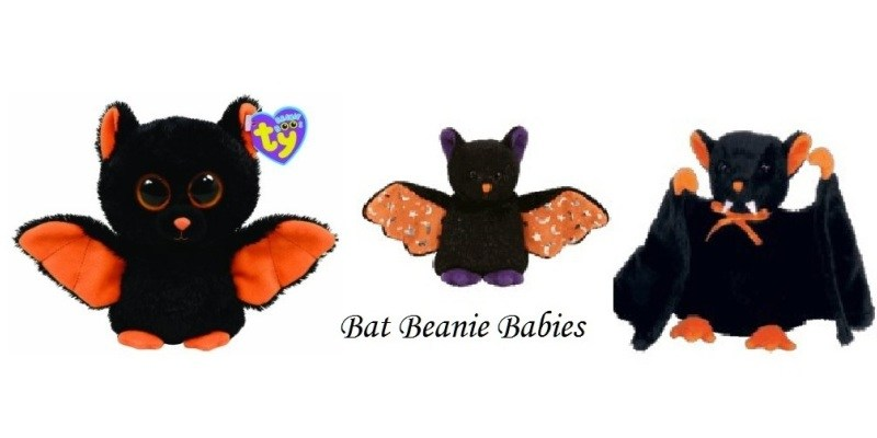 Bat Beanie Babies are Perfect for Halloween!