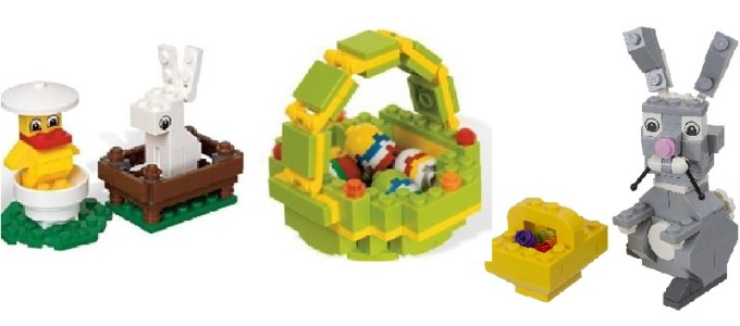 Easter Legos