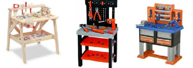 Workshop Workbench, Tool Bench for Kids