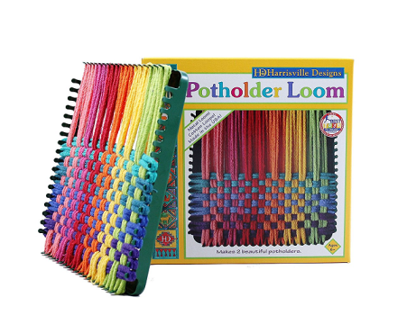 Potholder Loom and Loops