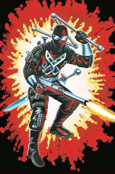 GI Joe Real American Hero #264 Silent Master Variant Cover C Friday