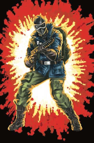GI Joe Real American Hero #264 Silent Master Variant Cover D Saturday