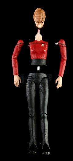 DST Art Asylum Star Trek The Next Generation All Good Things Captain Beverly Picard action figure hand-painted hardcopy parts
