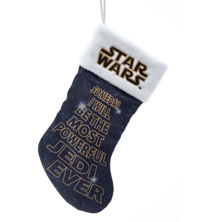 Stocking Jedi