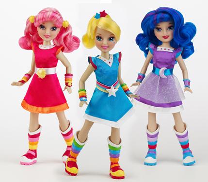 New Rainbow brite dolls